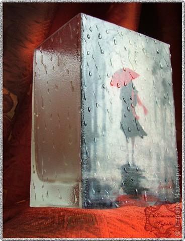 "Ваза ""Под зонтом"" фото 3"