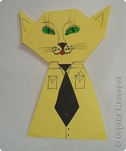 Здраствуйте жители Страны Мастеров я опять сделал новую поделку и назвал её семейство кошек. Тут кошка,  кот  и котёночек. фото 2