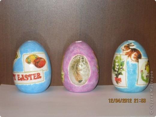 С большим опозданием выкладываю фото моих аромокамней в форме яиц которые я делала к пасхе. За идею огромное спасибо  Р-ы-с-я  http://stranamasterov.ru/node/320113  фото 13