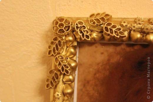 узор из макарон, окраска из баллончика, золото. фото 7
