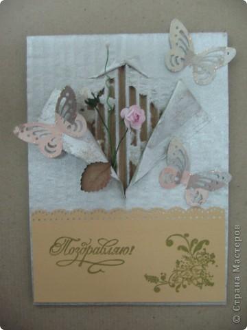 пастельная бумага, кружево, стихи из какой-то открыточки приподняты, часики приподняты фото 17