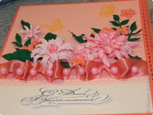 Здесь увидела открытку и МК цветочков http://stranamasterov.ru/node/321021?c=favorite_451 фото 4