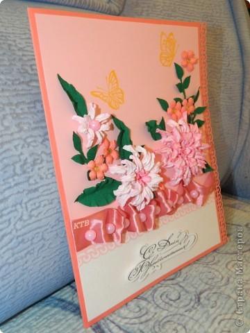 Здесь увидела открытку и МК цветочков http://stranamasterov.ru/node/321021?c=favorite_451 фото 3
