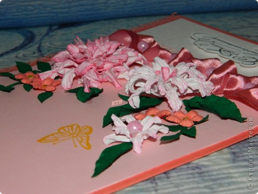 Здесь увидела открытку и МК цветочков http://stranamasterov.ru/node/321021?c=favorite_451 фото 8