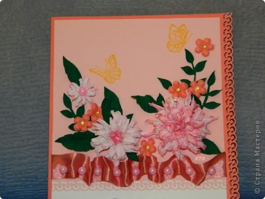 Здесь увидела открытку и МК цветочков http://stranamasterov.ru/node/321021?c=favorite_451 фото 9