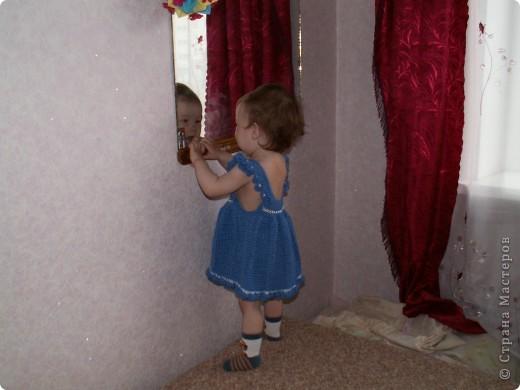 Очень понравилось вязать такое платье, планирую еще в другой расцветке) фото 3