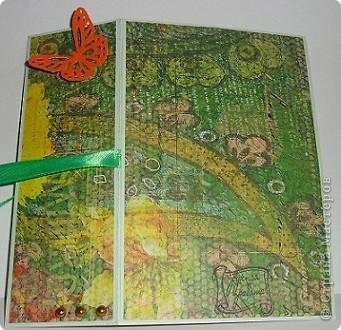 Сегодня я к вам с двумя открыточками.Сначала родилась левая,с неё и начну. фото 4