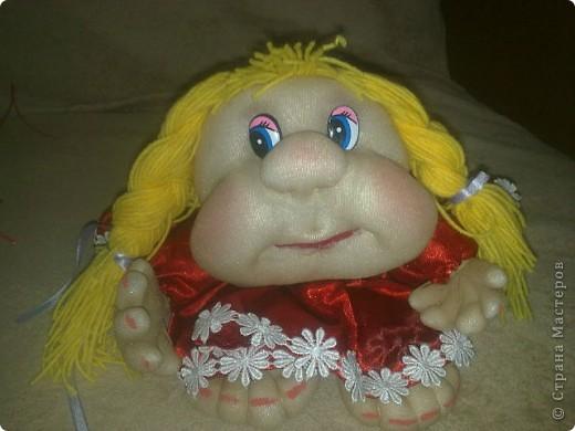 кукла Марфушенька