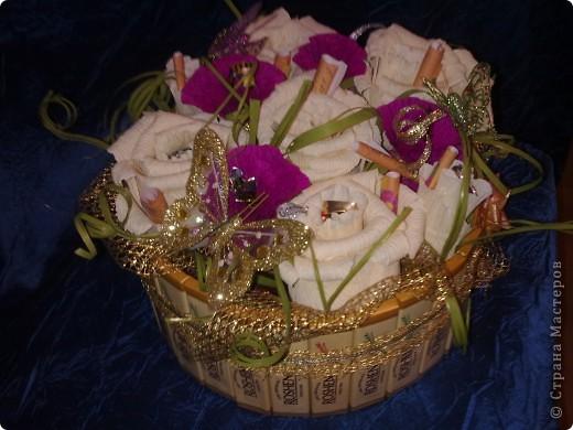конфетный букетик фото 2