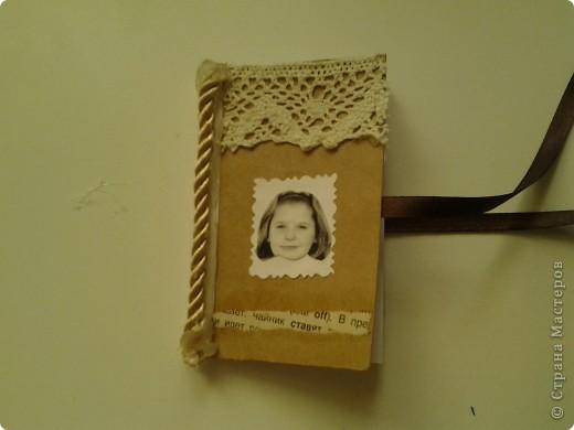 Кофейный блокнотик.(маленького размера) фото 1