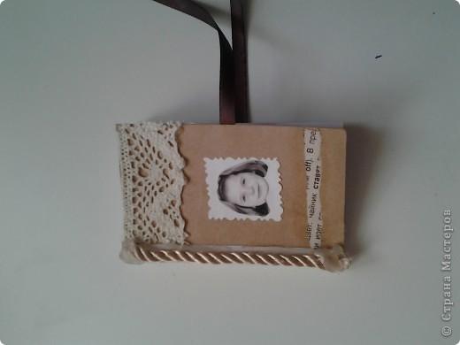 Кофейный блокнотик.(маленького размера) фото 2