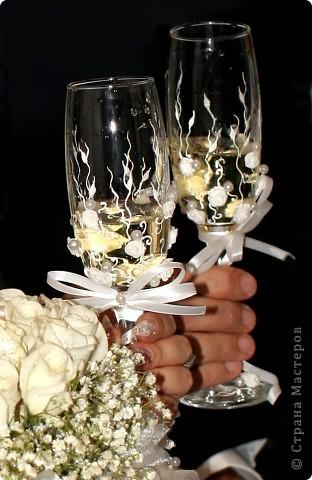 Бокалы,с которых мы пили в ЗАГСе шампанское) фото 1