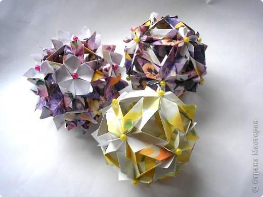 """Всем привет! Вот в ожидании кусудам (работ на конкурс http://all-origami.livejournal.com/67358.html), решила почистить свои завалы фоток и кое-что обнаружила! Это из серии  """"Как не надо делать"""". И так: фото 1"""