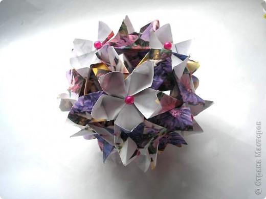 """Всем привет! Вот в ожидании кусудам (работ на конкурс http://all-origami.livejournal.com/67358.html), решила почистить свои завалы фоток и кое-что обнаружила! Это из серии  """"Как не надо делать"""". И так: фото 2"""