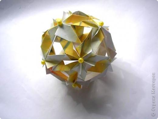 """Всем привет! Вот в ожидании кусудам (работ на конкурс http://all-origami.livejournal.com/67358.html), решила почистить свои завалы фоток и кое-что обнаружила! Это из серии  """"Как не надо делать"""". И так: фото 3"""