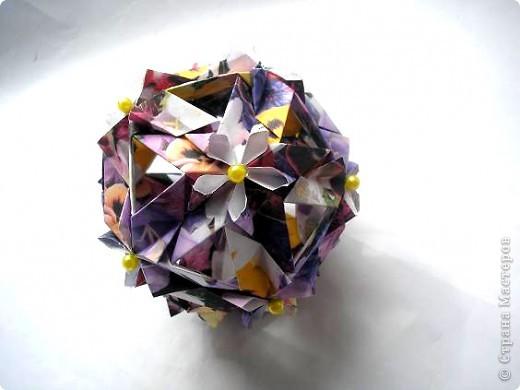 """Всем привет! Вот в ожидании кусудам (работ на конкурс http://all-origami.livejournal.com/67358.html), решила почистить свои завалы фоток и кое-что обнаружила! Это из серии  """"Как не надо делать"""". И так: фото 4"""