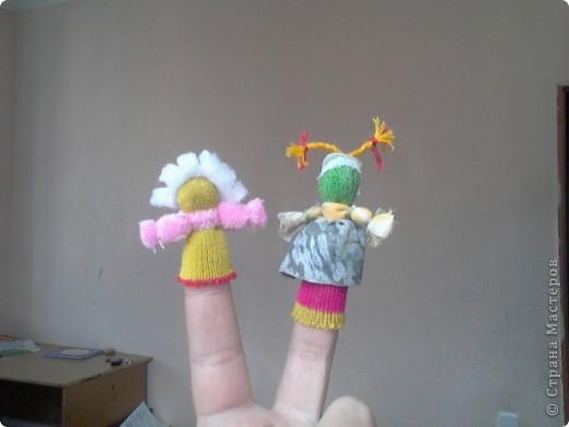 пальчиковые куколки для моей малышки