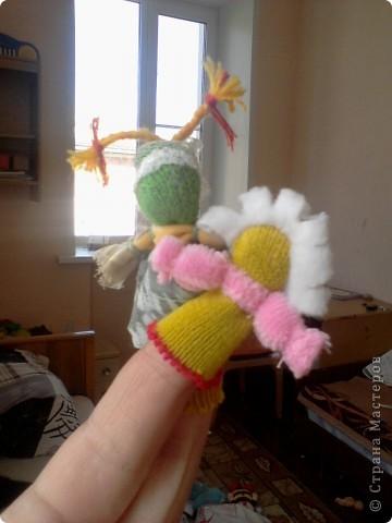 пальчиковые куколки для моей малышки фото 2