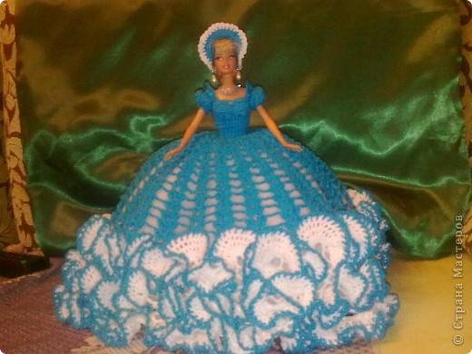 Платье для куклы Барби фото 2