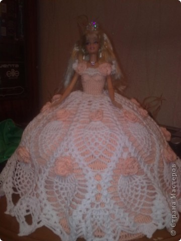 Как связать платье для куклы