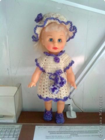 спицами для кукол Барби,
