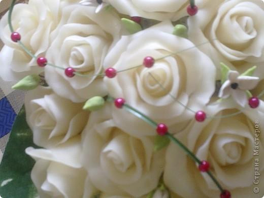 вот такие цветы наконец то получились с клеем ПВА момент, аж самой нравится фото 1