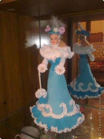 Платье для куклы Барби фото 4
