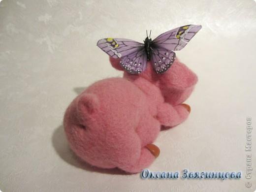 Хочет бабочку поймать. фото 3