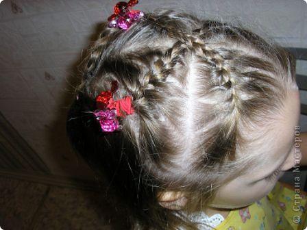 Французская коса из 5 прядей фото 10