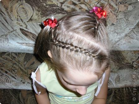Французская коса из 5 прядей фото 9