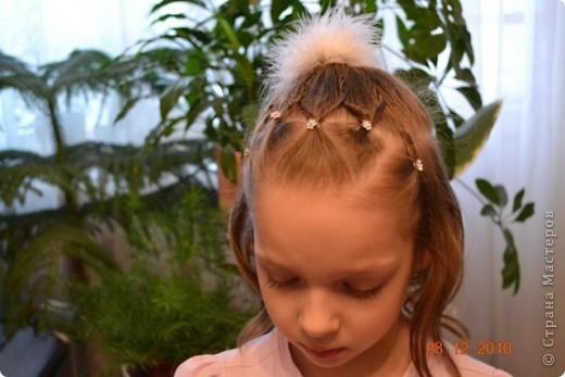 Французская коса из 5 прядей фото 6