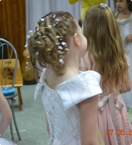 Французская коса из 5 прядей фото 4