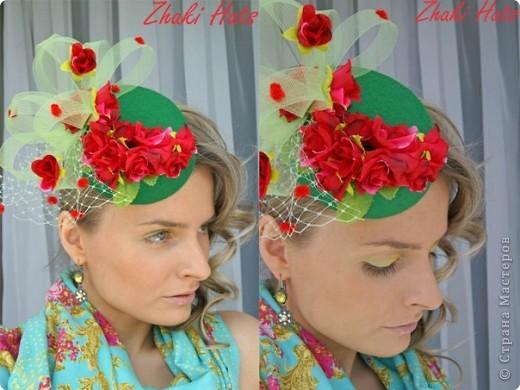 """Шляпка """"Бабочки"""" фото 2"""