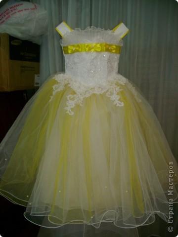выпускные платья для маленьких   фото 12