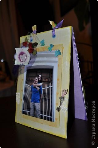 Рамка сделана для очень хороших друзей которые живут в Питере... на одной стороне фото с северной столицы... фото 1