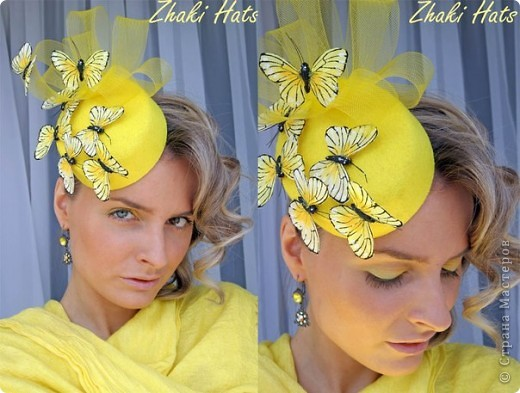 """Шляпка """"Бабочки"""" фото 1"""