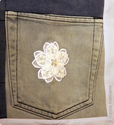 В дело пошли остатки искусственного меха, старые джинсы, драп. фото 13
