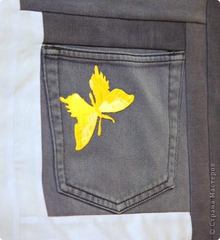 В дело пошли остатки искусственного меха, старые джинсы, драп. фото 14
