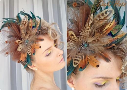 """Шляпка """"Бабочки"""" фото 3"""