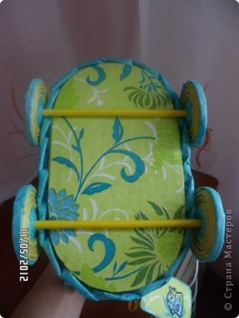 Приветик Страна Мастеров! У меня появился первый заказ - колясочка на свадьбу. Результатом делюсь с вами ))) фото 3