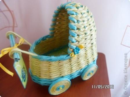 Приветик Страна Мастеров! У меня появился первый заказ - колясочка на свадьбу. Результатом делюсь с вами ))) фото 5