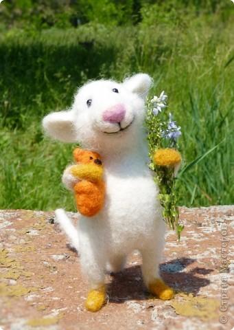 Мышонок Стёпка и весна:) фото 1