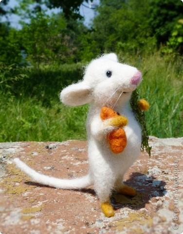 Мышонок Стёпка и весна:) фото 2
