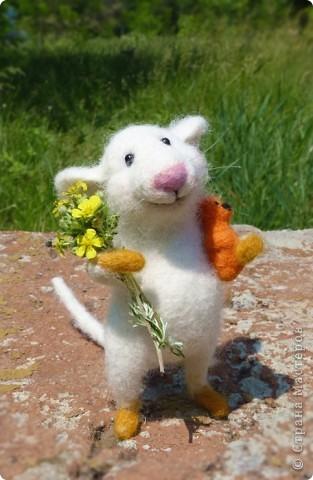 Мышонок Стёпка и весна:) фото 3