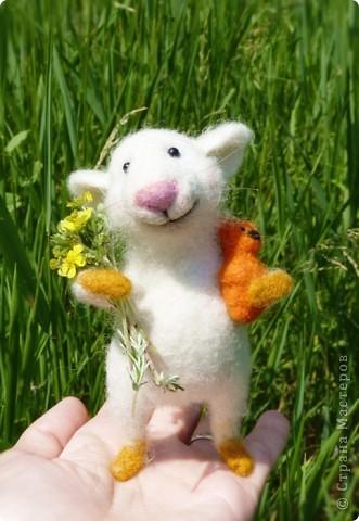 Мышонок Стёпка и весна:) фото 5