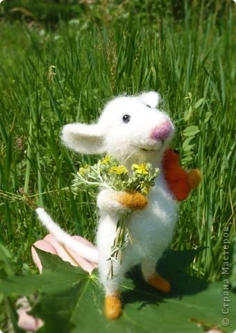 Мышонок Стёпка и весна:) фото 6