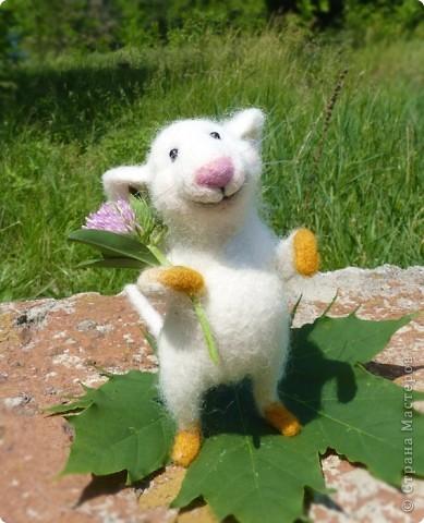 Мышонок Стёпка и весна:) фото 8