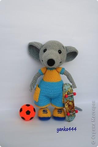 В онлайне с Патамуштой связан вот такой Крысик. Он и в футбол играет, и на скейте может кататься. В общем спортивный малый! фото 1