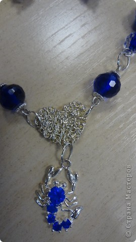 Голубые лилии в серебре фото 8