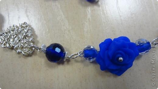 Голубые лилии в серебре фото 9